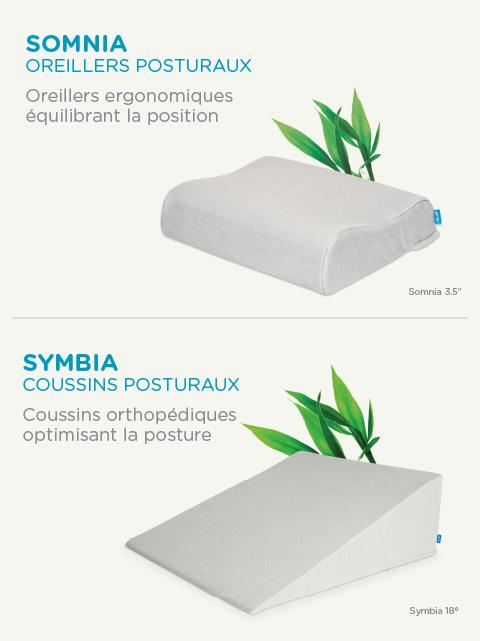 oreiller mal de dos Coussins et oreillers pour douleur au dos et lombaires   Orthex oreiller mal de dos