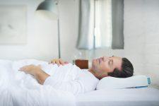 Back sleeper ergonomic pillow