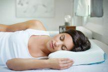 Oreiller ergonomique pour dormeur sur le côté