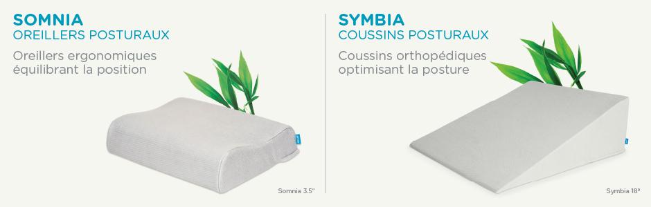 oreillers et coussins pour les douleurs aux paules orthex. Black Bedroom Furniture Sets. Home Design Ideas