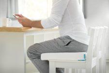 Orthopedic seating cushion