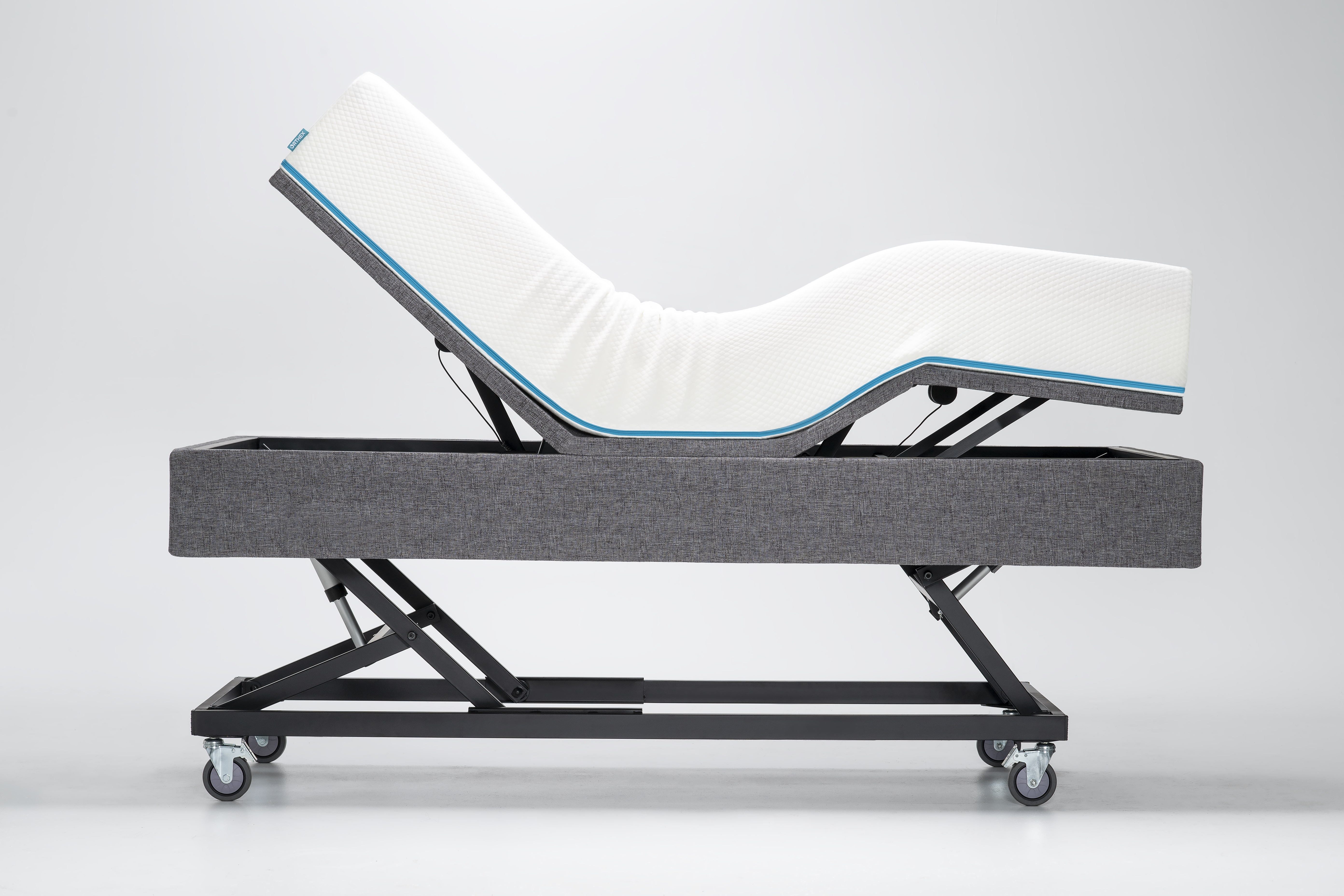 Multi-positions adjustable bed